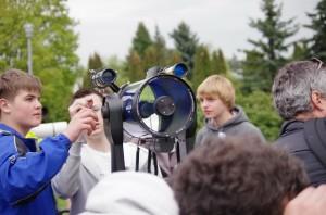 Телескоп на АстроФесте