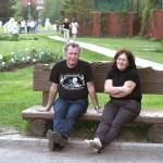 Владимир Иванов (DeepSky) с супругой