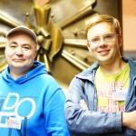Виталий Шведун и Александр Степура