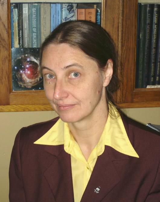 Ольга Касьяновна Сильченко, зав. отделом ГАИШ МГУ